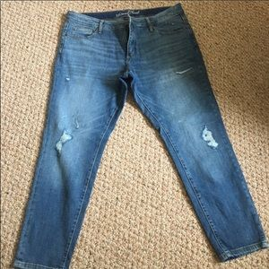 Distressed High Rise Skinny Jeans 👖NWOT!